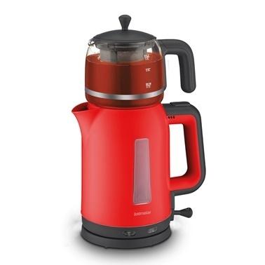 Goldmaster Papatya Çay Makinesi Kırmızı 7321 Kırmızı